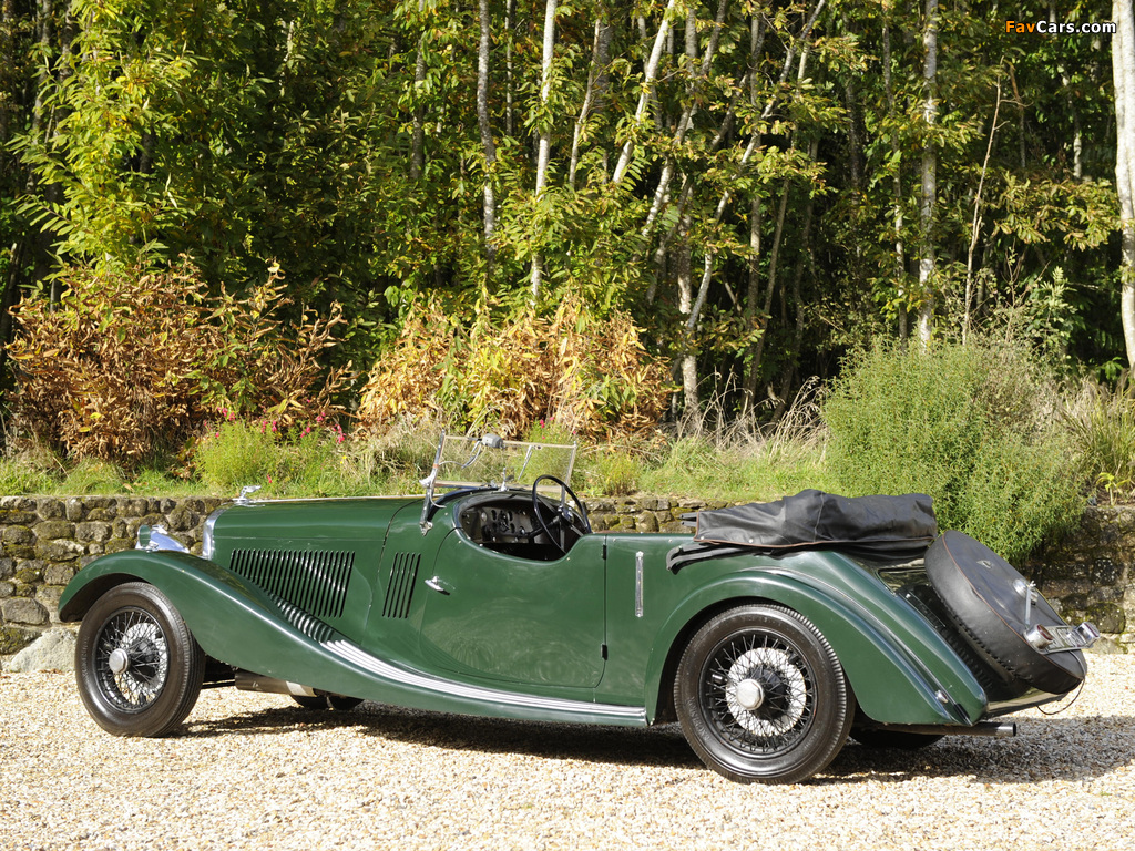 Pictures of Bentley 3 ½ Litre Open Tourer 1934 (1024 x 768)