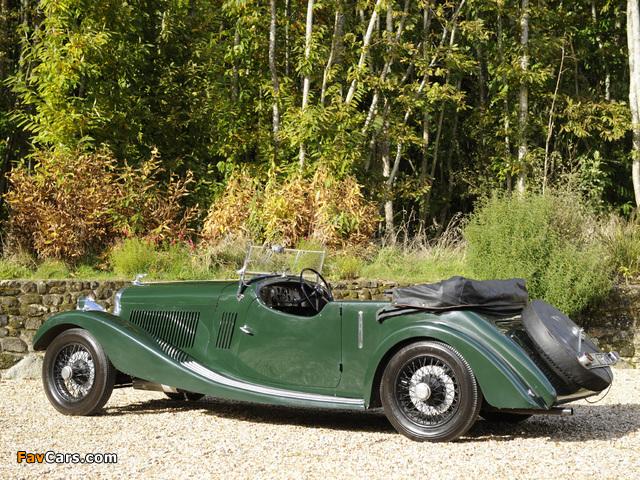 Pictures of Bentley 3 ½ Litre Open Tourer 1934 (640 x 480)