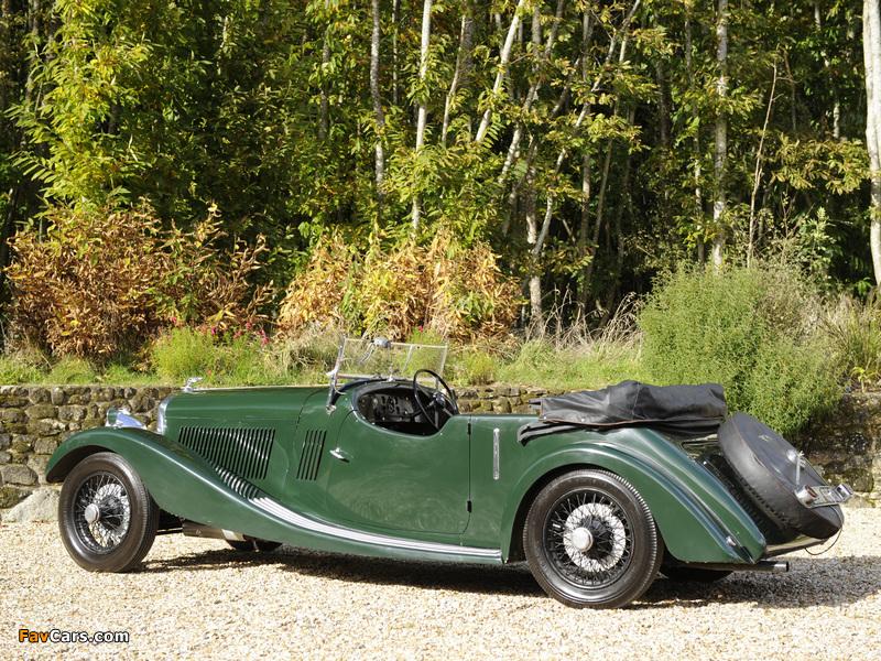 Pictures of Bentley 3 ½ Litre Open Tourer 1934 (800 x 600)