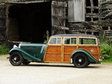 Bentley 3 ½ Litre Shooting Brake by Jones Bros 1935 wallpapers
