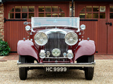 Bentley 3 ½ Litre Drophead Coupe by Vanden Plas 1934 wallpapers