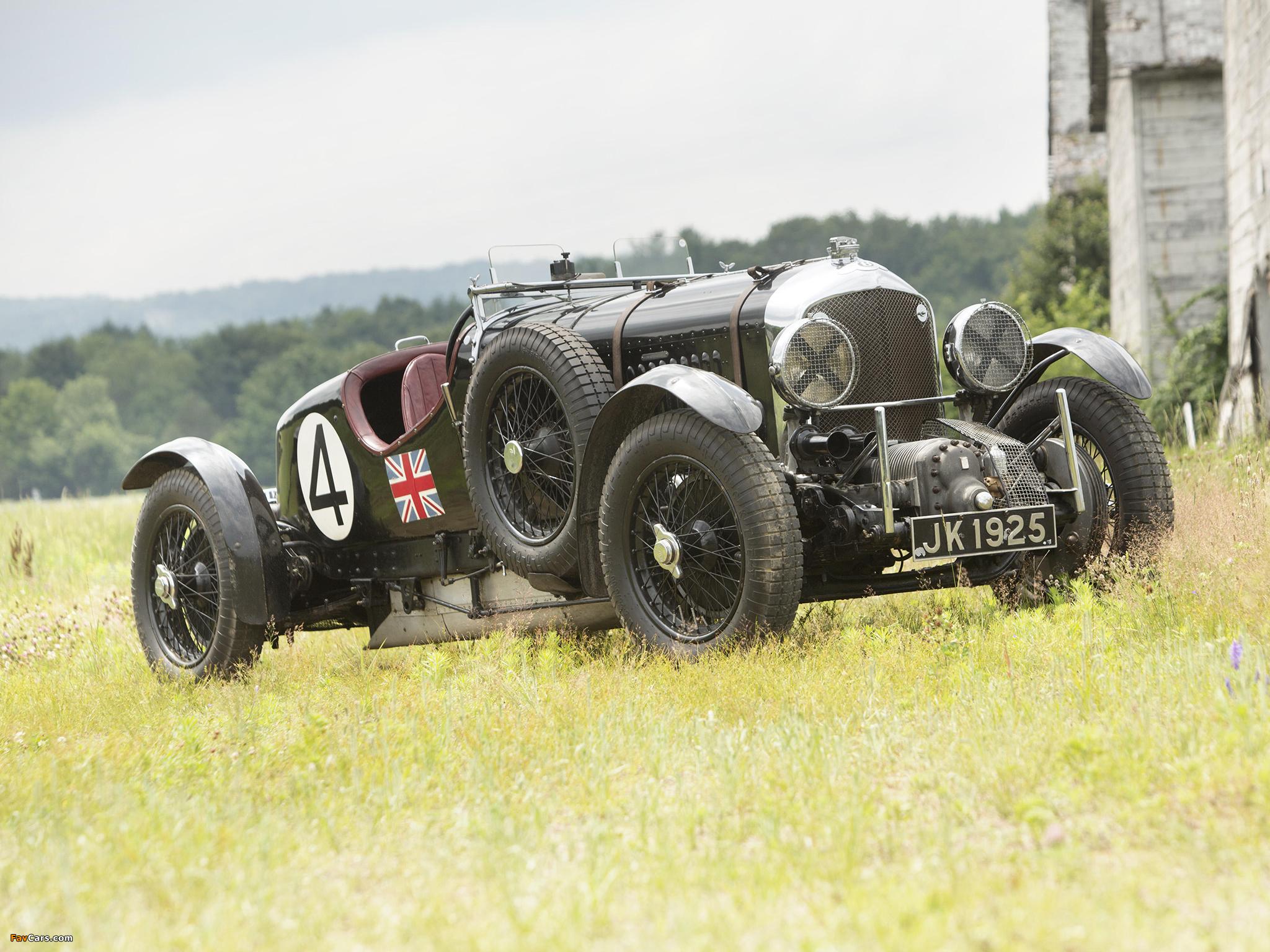 Bentley 4 ½ Litre Supercharged Le Mans Blower by Vanden Plas 1931