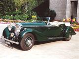 Bentley 4 ¼ Litre Tourer by Vanden Plas 1936–39 photos