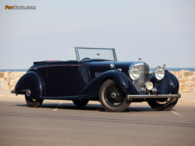 Bentley 4 ¼ Litre Concealed Head Coupe by Mulliner 1937 pictures (640 x 480)