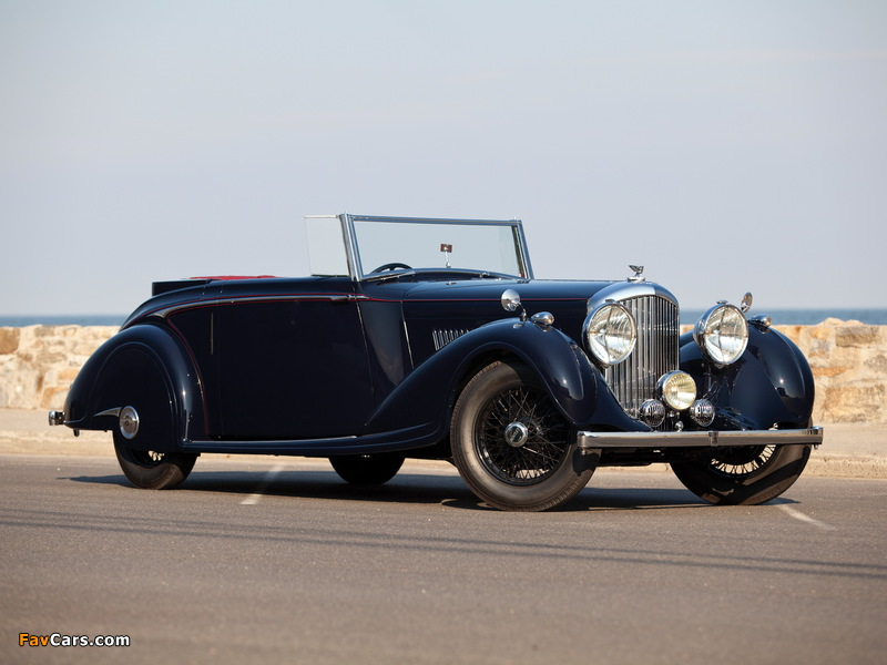 Bentley 4 ¼ Litre Concealed Head Coupe by Mulliner 1937 pictures (800 x 600)