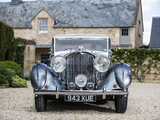 Bentley 4 ¼ Litre Sports Saloon by Mulliner 1938 wallpapers