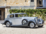 Images of Bentley 4 ¼ Litre Sports Saloon by Mulliner 1938
