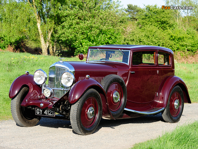 Bentley 4 Litre Saloon by Thrupp & Maberly 1931 photos (640 x 480)