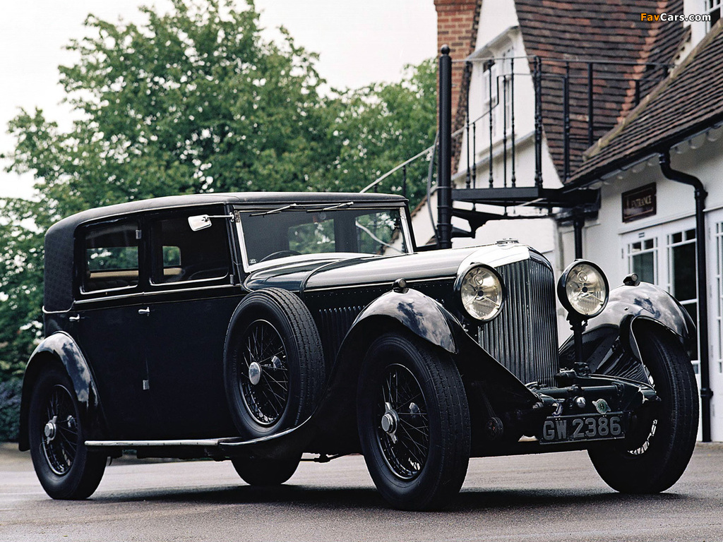 Bentley 8 Litre Limousine 1930–31 wallpapers (1024 x 768)