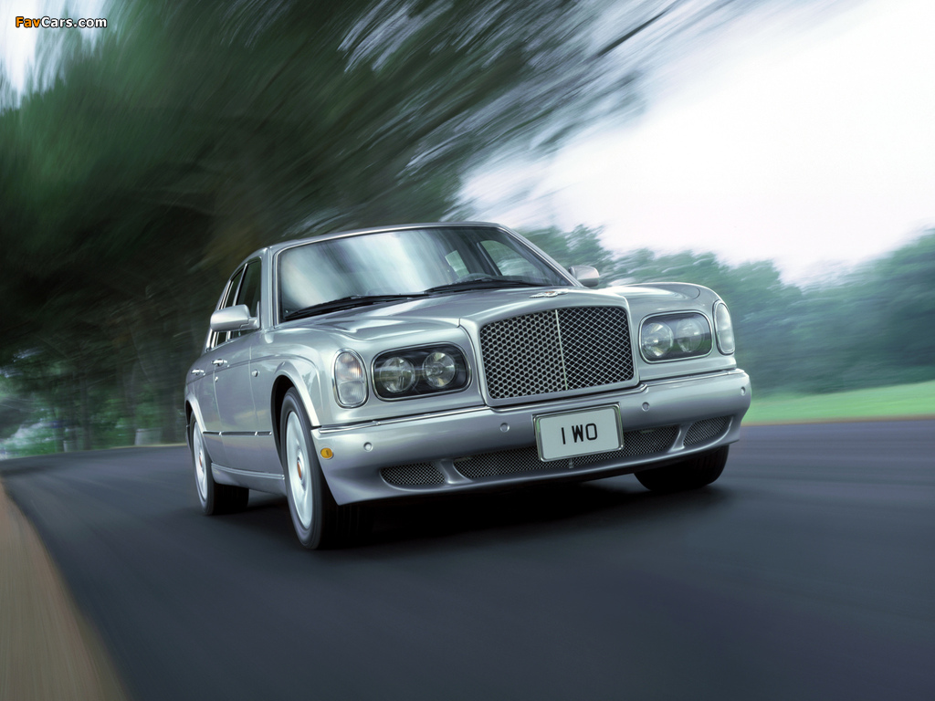 Bentley Arnage Red Label 1999–2002 pictures (1024 x 768)