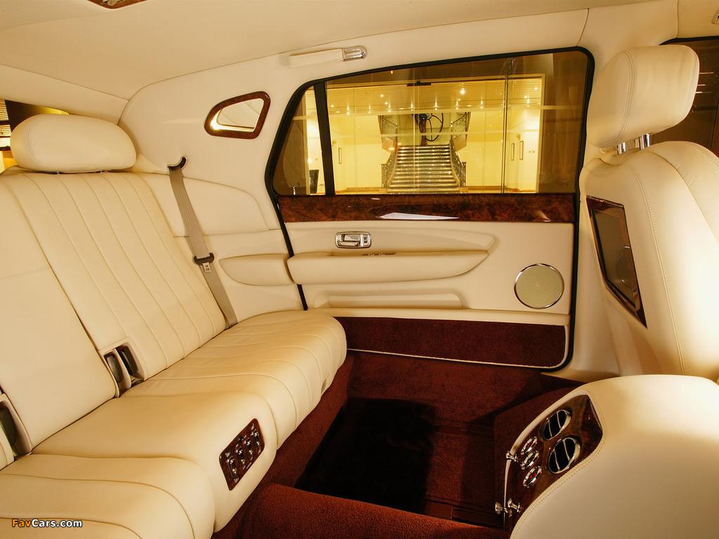 Bentley Arnage Limousine 2005 wallpapers (1024 x 768)