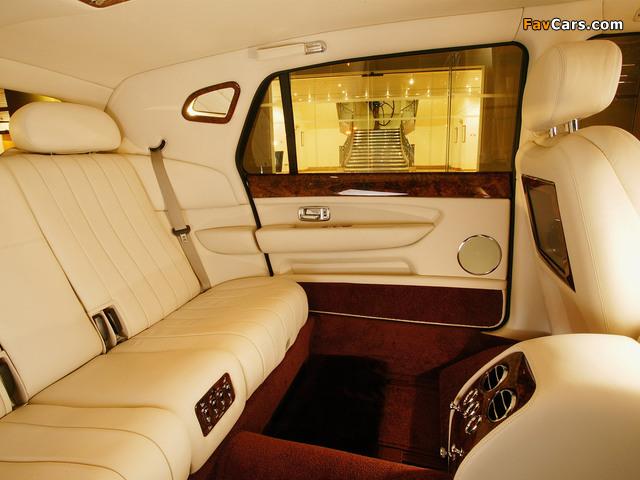 Bentley Arnage Limousine 2005 wallpapers (640 x 480)
