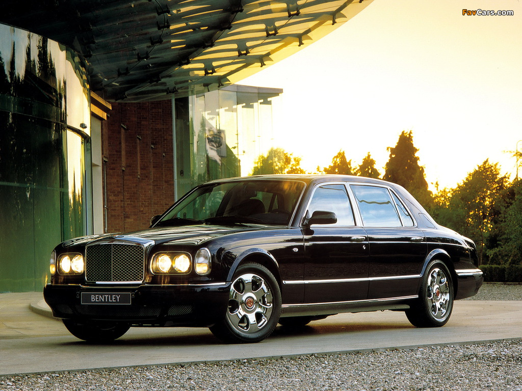 Images of Bentley Arnage Red Label LWB Personal Commission 2001–02 (1024 x 768)