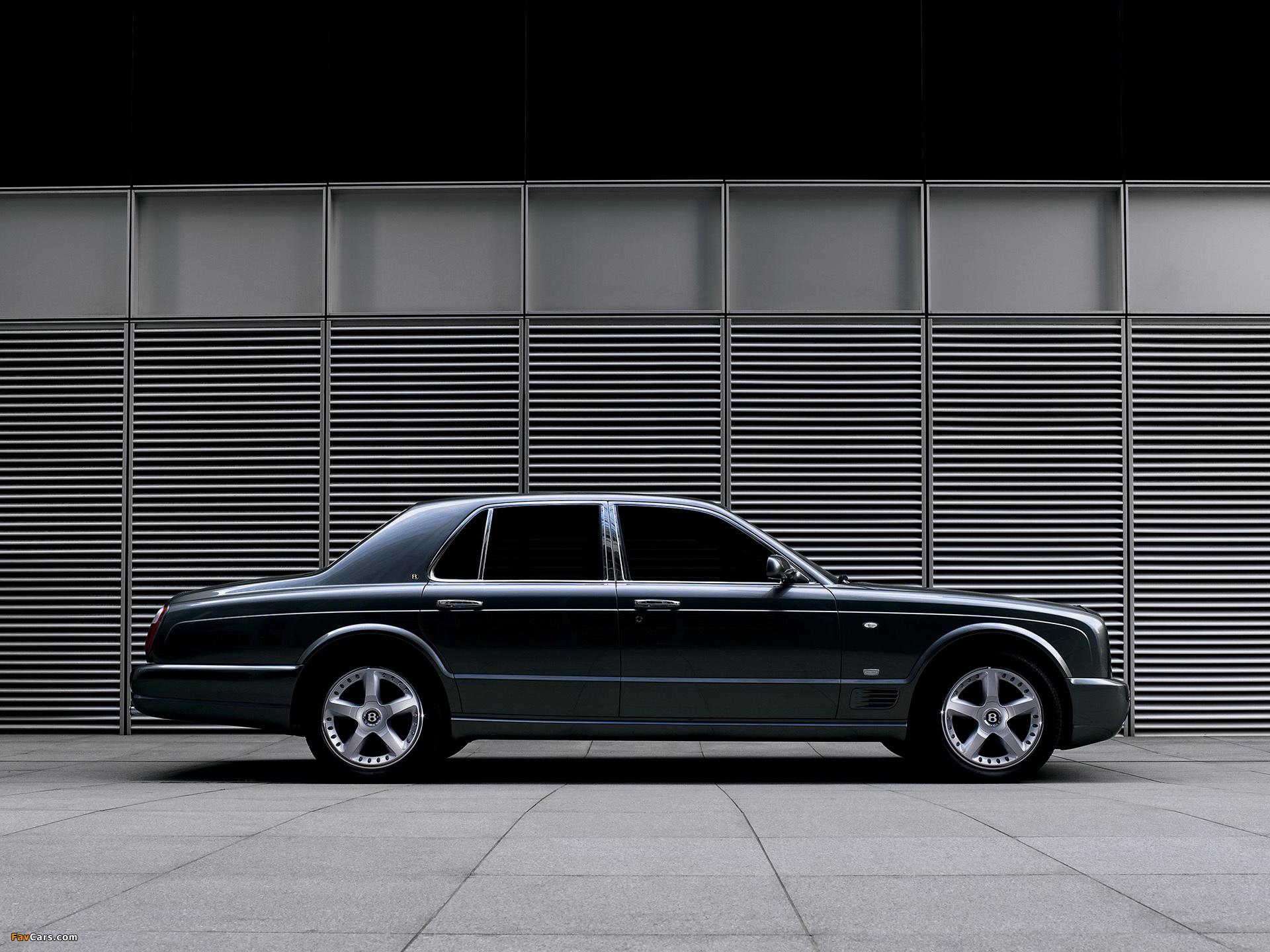Images of Bentley Arnage 2007–09 (1920 x 1440)