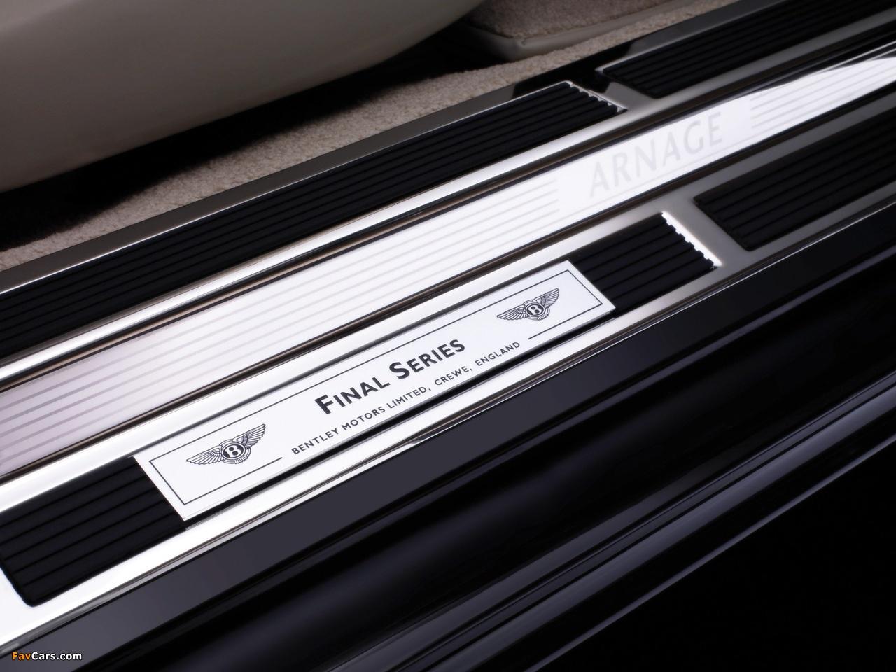 Images of Bentley Arnage Final Series 2008–09 (1280 x 960)