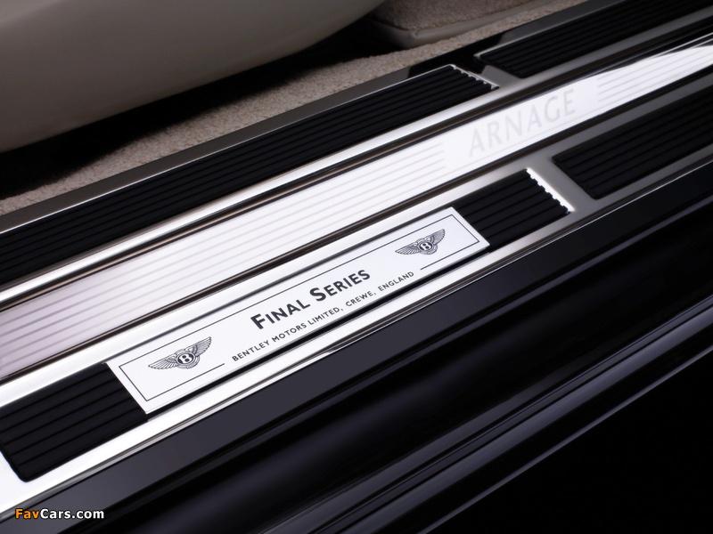 Images of Bentley Arnage Final Series 2008–09 (800 x 600)