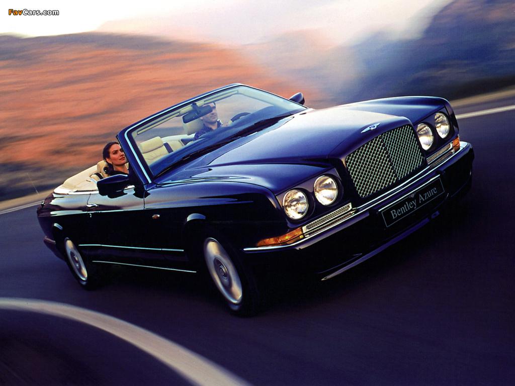Bentley Azure 1995–2003 wallpapers (1024 x 768)