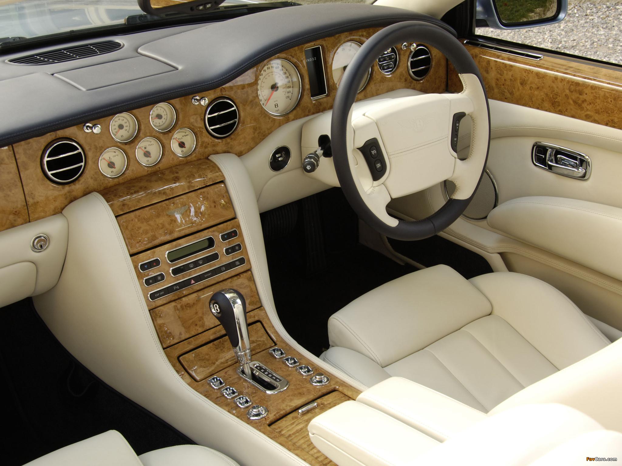 Bentley Azure UK-spec 2007–08 wallpapers (2048 x 1536)