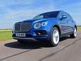 Bentley Bentayga UK-spec 2016 images