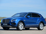Bentley Bentayga UK-spec 2016 pictures