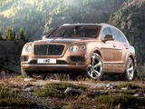 Wallpapers of Bentley Bentayga 2016