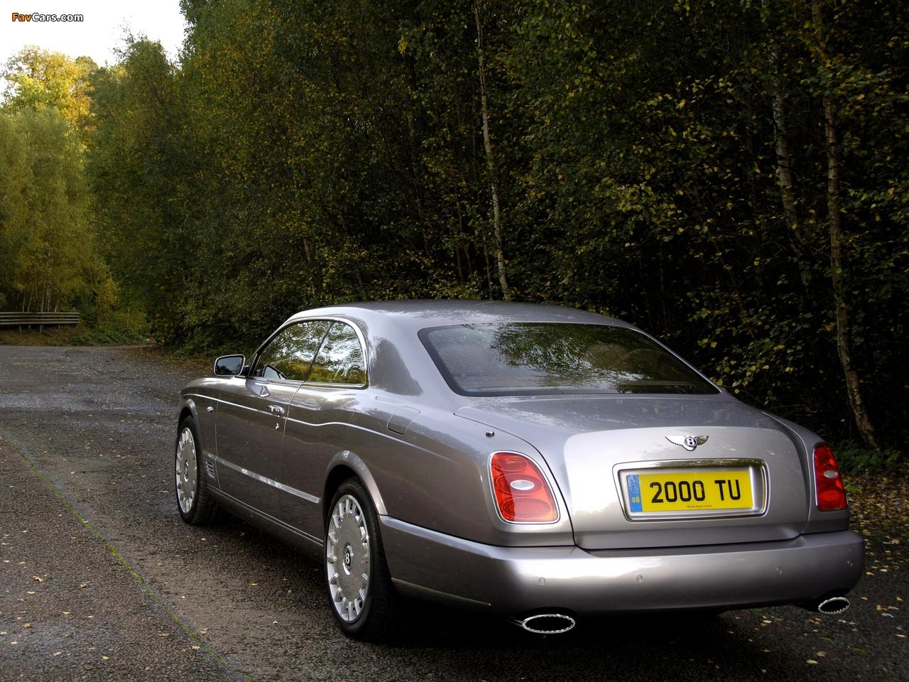 Bentley Brooklands 2007–09 images (1280 x 960)