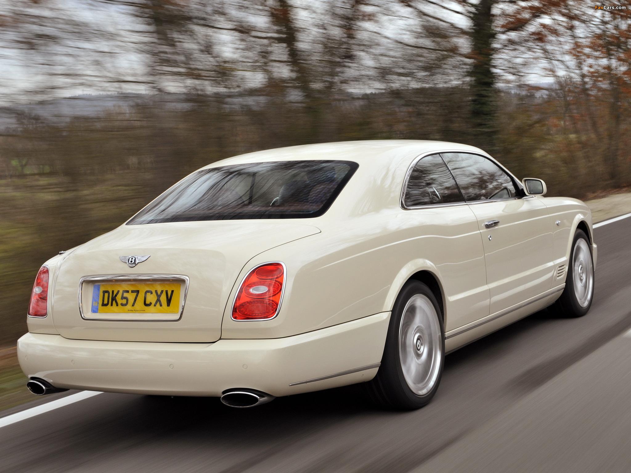 Bentley Brooklands 2007–09 photos (2048 x 1536)