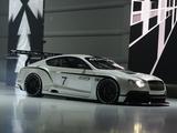 Photos of Bentley Continental GT3 Concept 2012