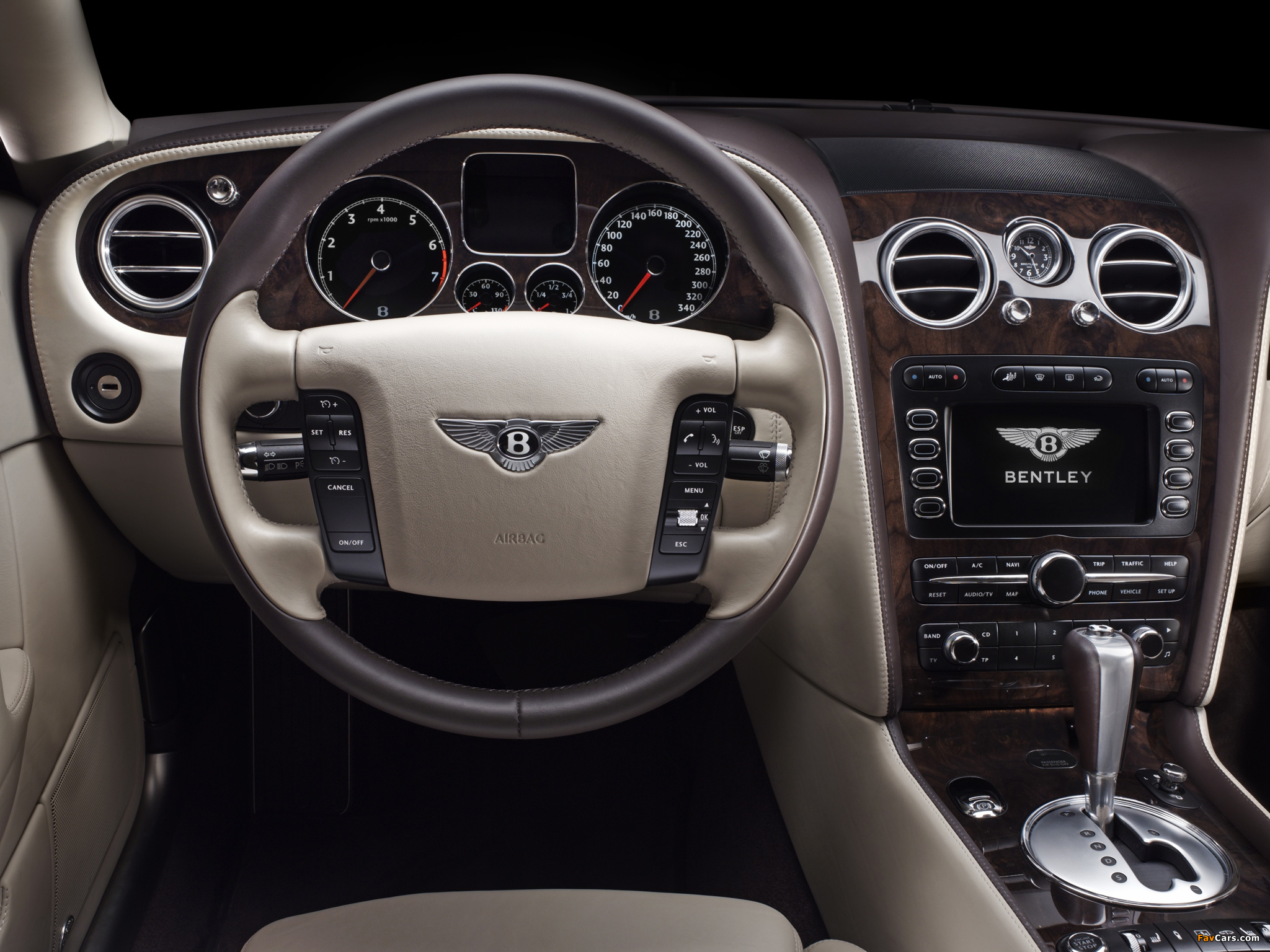 Bentley Continental Flying Spur 2008 wallpapers (2048 x 1536)