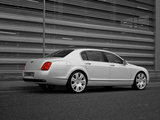 Project Kahn Bentley Continental Flying Spur Pearl White Edition 2009 wallpapers