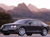 Bentley Continental GT 2003–07 photos