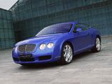 Bentley Continental GT Mulliner Driving Spec 2003–07 wallpapers