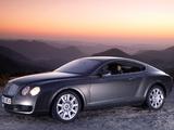 Bentley Continental GT 2003–07 wallpapers