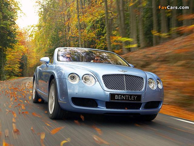 Bentley Continental GTC 2006–08 images (640 x 480)