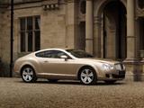 Bentley Continental GT 2007–11 images
