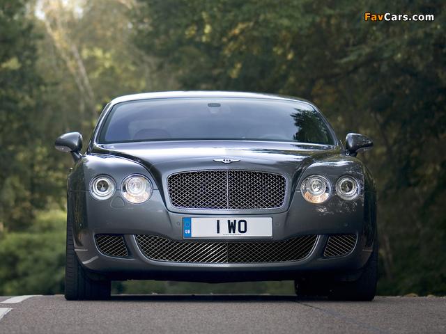 Bentley Continental GT Speed 2007–11 images (640 x 480)