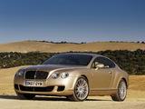 Bentley Continental GT Speed 2007–11 photos