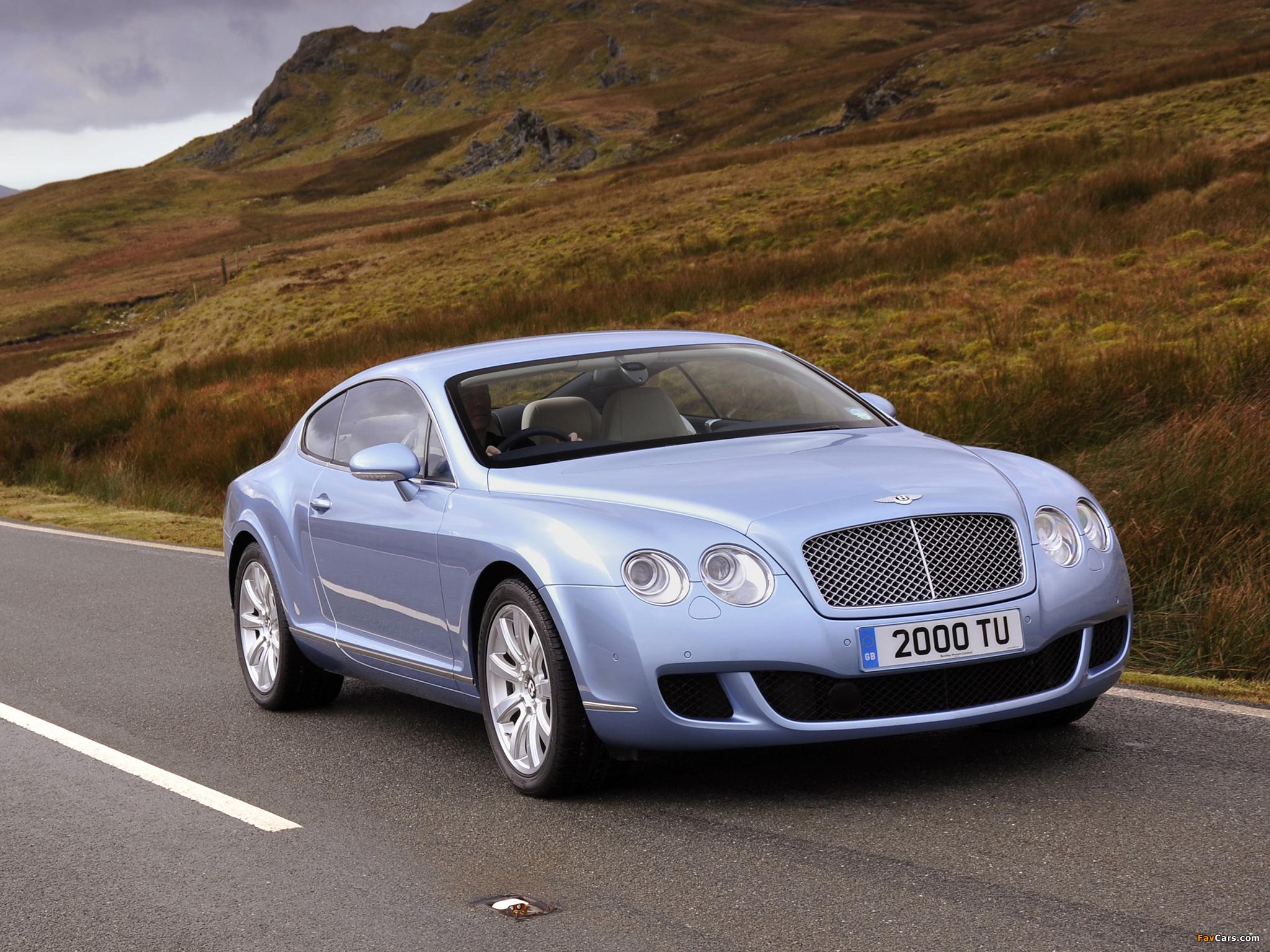 Bentley Continental GT UK-spec 2007–11 photos (2048 x 1536)