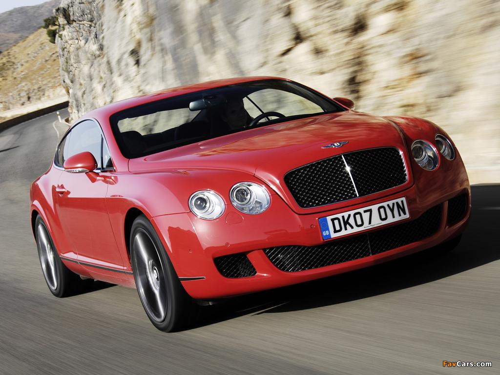 Bentley Continental GT Speed 2007–11 pictures (1024 x 768)