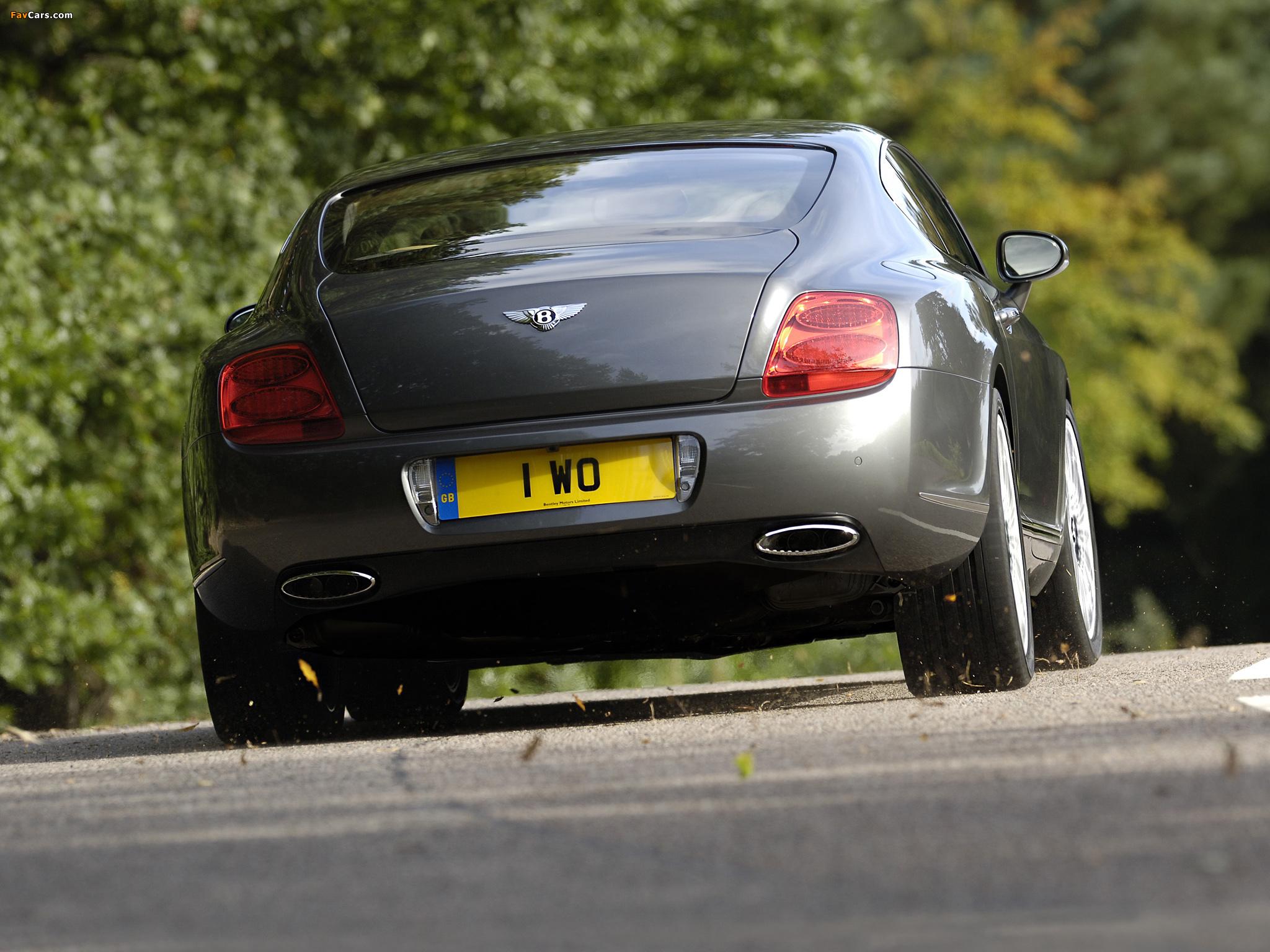 Bentley Continental GT Speed 2007–11 pictures (2048 x 1536)