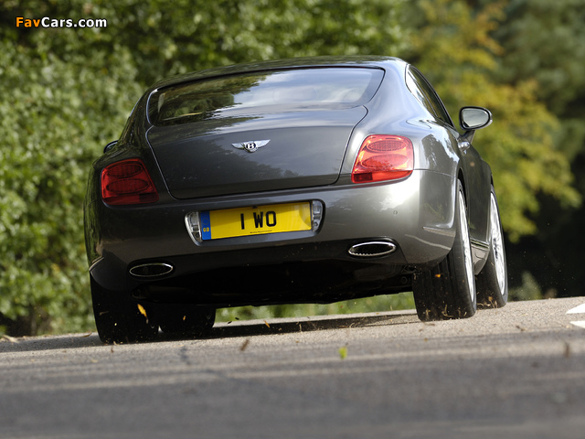 Bentley Continental GT Speed 2007–11 pictures (640 x 480)
