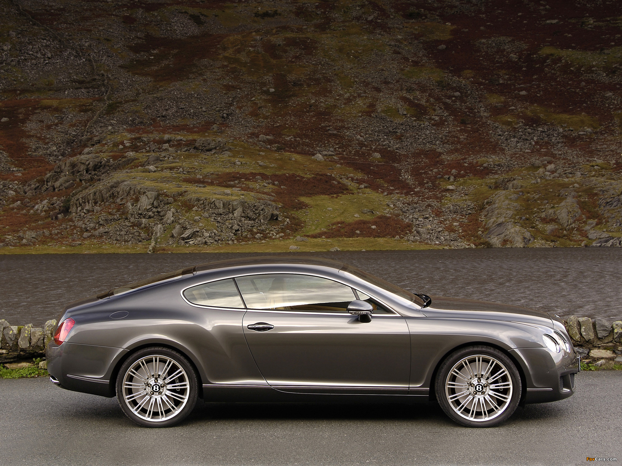 Bentley Continental GT Speed 2007–11 wallpapers (2048 x 1536)