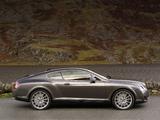 Bentley Continental GT Speed 2007–11 wallpapers