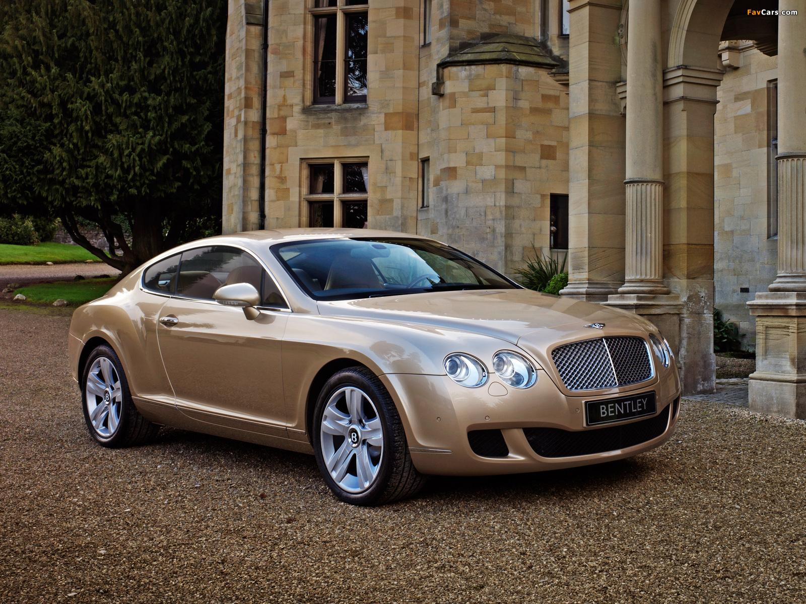 Bentley Continental GT 2007–11 wallpapers (1600 x 1200)