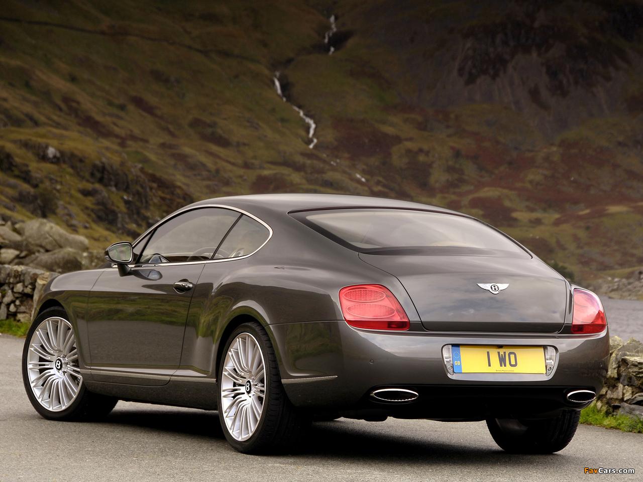 Bentley Continental GT Speed 2007–11 wallpapers (1280 x 960)