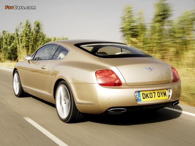 Bentley Continental GT Speed 2007–11 wallpapers (640 x 480)