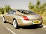 Bentley Continental GT Speed 2007–11 wallpapers
