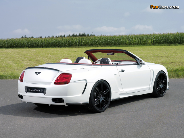 Mansory Bentley Continental GTC 2008–10 pictures (640 x 480)