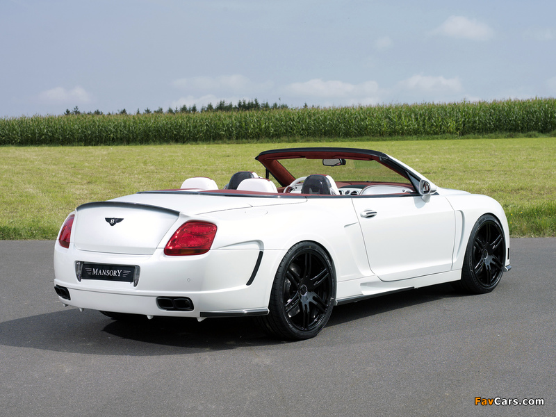 Mansory Bentley Continental GTC 2008–10 pictures (800 x 600)