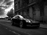 Project Kahn Bentley Continental GTS Black Edition 2008 wallpapers